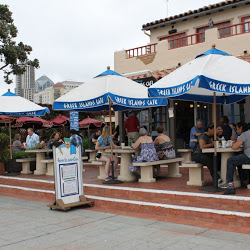 Greek Islands Cafe Seaport Village San Diego CA
